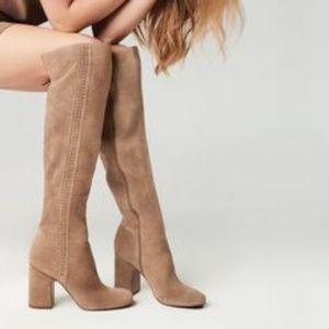 f6d70fd816e Franco Sarto Shoes - NEW Franco Sarto Laurel Over the Knee Suede Boots
